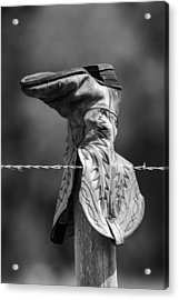 Boot Post Acrylic Print