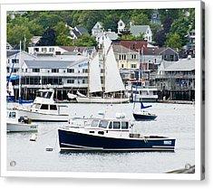 Boothbay Harbor Acrylic Print