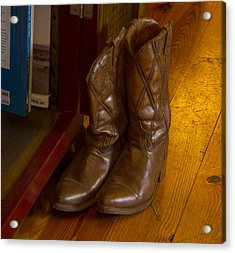 Boots Not Made For Walking Acrylic Print by Jean Noren