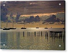 Acrylic Print featuring the photograph Boqueron Sunset by Ricardo J Ruiz de Porras