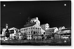 Borax Building  Trona Ca Acrylic Print