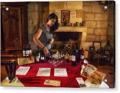 Bordeaux Wine Tasting Tour Acrylic Print by Georgia Fowler