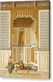 Bordeyny Mosque, Cairo Acrylic Print by French School