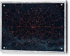 Boreal Constellations Acrylic Print by Collection Abecasis