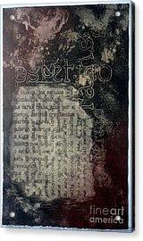 Borges 5 Acrylic Print