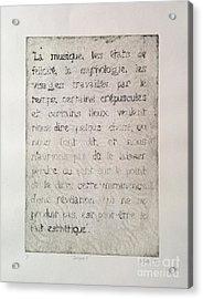 Borges 6 Acrylic Print