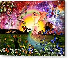 Born Again Acrylic Print