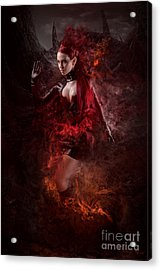 Born Of Fire Acrylic Print by Robert Palmer