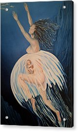 Born Of Water - Naitre De L'eau Acrylic Print
