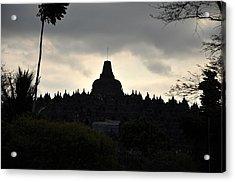 Borobudur Temple Acrylic Print by Achmad Bachtiar