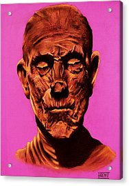 Borris 'the Mummy' Karloff Acrylic Print