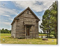 Bostick School House Acrylic Print