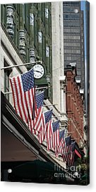 Boston 4th Of July Acrylic Print