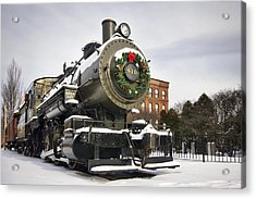 Boston And Maine Locomotive Acrylic Print by Eric Gendron