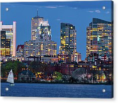 Boston Acrylic Print by Babak Tafreshi