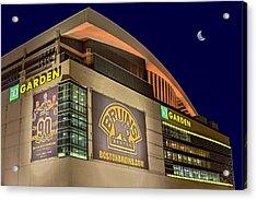 Boston Bruins Td Gardens Acrylic Print by Susan Candelario