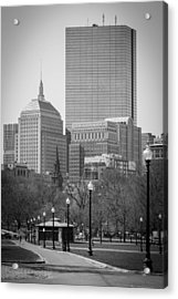Boston Common Acrylic Print