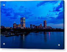 Boston Evening Acrylic Print by Rick Berk