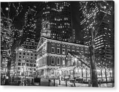 Boston Faneuil Hall  Acrylic Print