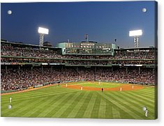 Boston Fenway Park And Red Sox Nation Acrylic Print by Juergen Roth