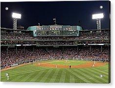Boston Fenway Park Baseball Acrylic Print by Juergen Roth