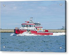 Boston Fire Marine 1 Acrylic Print