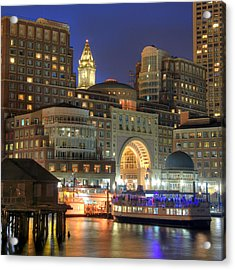 Boston Harbor Party Acrylic Print by Joann Vitali