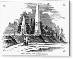 Boston Mount Auburn, 1854 Acrylic Print by Granger