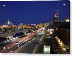 Boston Museum Of Science Acrylic Print by Juergen Roth