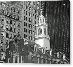 Boston Old State House Acrylic Print