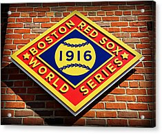 Boston Red Sox 1916 World Champions Acrylic Print