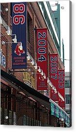 Boston Red Sox 2013 Championship Banner Acrylic Print