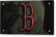 Boston Red Sox Acrylic Print by David Haskett