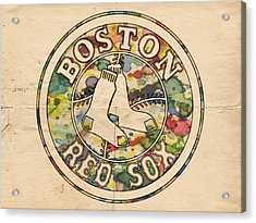 Boston Red Sox Poster Acrylic Print