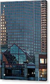 Boston Reflections Acrylic Print