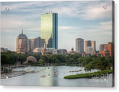 Boston Skyline I Acrylic Print