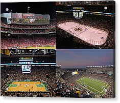 Boston Sports Teams And Fans Acrylic Print