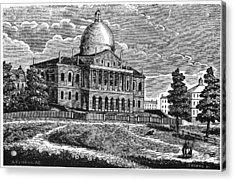 Boston State House, 1817 Acrylic Print by Granger