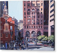 Boston Summer Acrylic Print