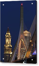 Boston Tall And Strong Acrylic Print