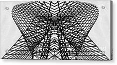 Acrylic Print featuring the photograph Bostonian Symmetry by Sebastian Mathews Szewczyk