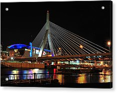 Boston's Zakim-bunker Hill Bridge Acrylic Print