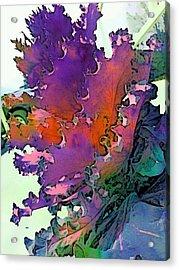 Botanica Fantastica I Acrylic Print by ARTography by Pamela Smale Williams