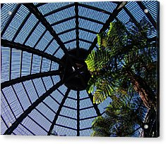Botanical Building Atrium - Balboa Park Acrylic Print by Glenn McCarthy