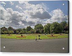 Botanical Garden Ireland Acrylic Print by Betsy Knapp