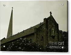 Botanical Gardens Cathedral Acrylic Print by Cheryl Boutwell