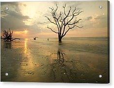 Botany Bay Beach Acrylic Print