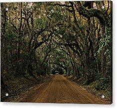 Botany Bay Road Acrylic Print