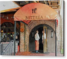 Bottega Acrylic Print by Gail Chandler