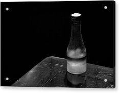 Bottle And Corner Acrylic Print by Guillermo Hakim